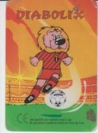 Belgium - Diabolix - Cartoons Animation Caricature Comics - Football Soccer - Card 80/55 Mm - Trading Cards