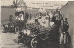 85 LUCON  Souvenir De La Fête Des Fleurs, 28 Juin 1914  Corbeille D'Hortensias - Lucon