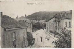 88 XERTIGNY  Rue De La Gare - Xertigny