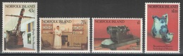 Norfolk - YT 493-496 ** MNH - 1991 - Musées - Museums - Ile Norfolk