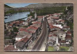 CPSM 26 - SERVES - La Route De Valence - TB PLAN CENTRE VILLAGE AUTOMOBILES Façades Maisons - CP Voyagée 1963 - France