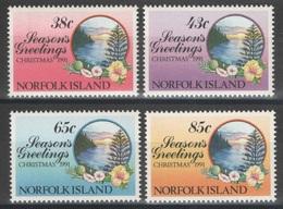 Norfolk - YT 503-506 ** MNH - 1992 - Season's Greetings - Ile Norfolk