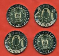 Kazakhstan 2020. Lot Of Two Coins 200 Tenges. UNC. NEW!!!! - Kazakhstan