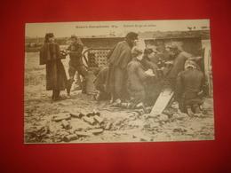N°0839. WW1. GUERRE EUROPEENNE 1914. BATTERIE BELGE EN ACTION. ANIMATION DES SERVANTS. - Guerre 1914-18