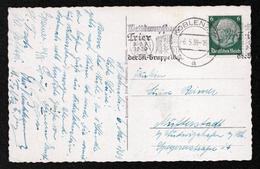 DR Karte KOBLENZ - Mutterstadt - 6.5.39 - Mi.516 Mit MS Wettkampftag Trier 8.-9.7.1939 Der SA-Gruppe West - Deutschland