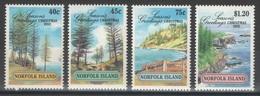 Norfolk - YT 522-525 ** MNH - 1992 - Seasons Greetings - Ile Norfolk