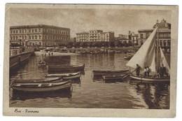 2891 - BARI PANORAMA ANIMATA BARCHE 1949 - Bari