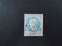 FRANCE YT29B NAPOLEON III LAURE TYPE II 20c. Bleu Losange GC 143 - 1863-1870 Napoleon III With Laurels
