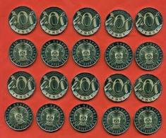 Kazakhstan 2020. Lot Of 10 Coins 200 Tenges. UNC. NEW!!!! - Kazakhstan
