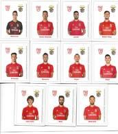 IMANS DE L'ÉQUIPE SPOR LISBOA E BENFICA GAGNANT CHAMPIONNAT NATIONAL DE FOOTBALL 2018/2019 - PORTUGAL -37e. CHAMPIONNAT - Altre Collezioni