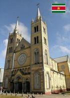 Suriname Paramaribo Cathedral UNESCO New Postcard - Suriname