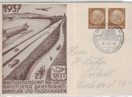 DR.-PP-Ganzsachen Karte - Frankfurt  ......  (ko601 ) Siehe Scan - Deutschland