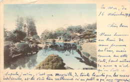 JAPAN JAPON  NIKKO Garden En 1903 - Giappone