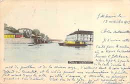 JAPAN JAPON YOKOHAMA Creek En 1903  Hong-Kong Stamped - Yokohama