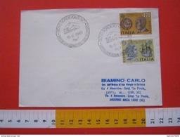 A.02 ITALIA ANNULLO - 1980 SORDEVOLO BIELLA VERCELLI SACRE RAPPRESENTAZIONI PASSIONE DI CRISTO GESU - Culture