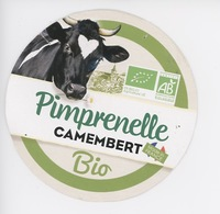 Pimprenelle Camembert Bio  - Agriculture Biologique Made In France (vache Noire Et Vlanche Paquerette) - Kaas