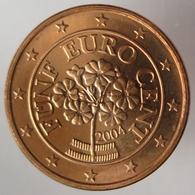 AU00504.1 - AUTRICHE - 5 Cents - 2004 - Autriche