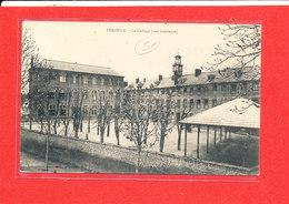 80 PERONNE Cpa Le College Vue Intérieure Edit Souillard - Peronne