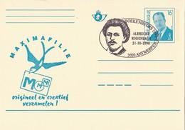 België - Briefkaart - Antwerpen - Boekenbeurs 1996 - Albrecht Rodenbach - (1996) - Storia Postale