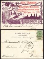Belgique - CP COB 56 De Bruges 14/07/1902 Vers Vaulx-lez-Tournai (RD344)DC5857 - Lettonie