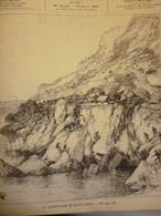 La Catastrophe De Monte Carlo , Gravure De Riou 1886 - Documents Historiques