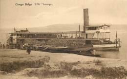 Congo Belge - Le Bâteau S/W Lusanga - Belgisch-Congo - Varia