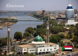 Sudan Khartoum Aerial View Mosque New Postcard - Sudan