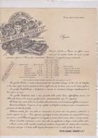 FATTURA COMMERCIALE LISTINO PREZZO - TORINO - FATTORIA DI VINI IN MARSALA - PIETRO GIACONE RUGGIERO E C. - Italy