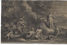 Gravure Scène Mythologie - Prenten & Gravure