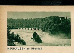 Carte Illustrée Neuve N° 182 - 0274 A -  NEUHAUSEN Am Rheinfall (pont) (Zumstein 2009) - Enteros Postales