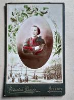 CDV Format CABINET Colorisée - Portrait Militaire Du 3 ème Régiment De ZOUAVES - Photo Plait, BIZERTE - BE - Guerre, Militaire