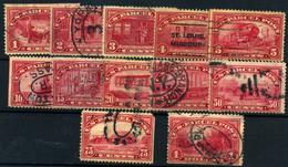 Estados Unidos (Paquetes Postales)  Nº 1/12. Año 1912. - Gebruikt