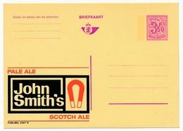 """BELGIQUE => Carte Postale - 3,50F Avec Publicité """"John Smith's""""  - Publibel N°2587N - Ganzsachen"""