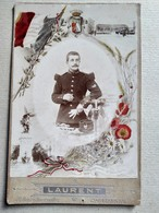 CDV Format CABINET Colorisée - Portrait Militaire Du 109 ème Régiment D'infanterie - Photo Laurent, CHAUMONT - BE - War, Military