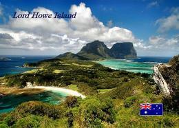 Lord Howe Island Overview UNESCO Australia New Postcard - Australia