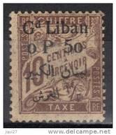 Grand Liban Timbre Taxe N° 6 * - Gran Libano (1924-1945)