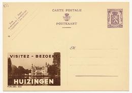 """BELGIQUE => Carte Postale - 90c Avec Publicité """"Visitez HUIZINGEN"""" - Publibel N° 833 - Ganzsachen"""