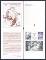 Sweden Sverige 1991 MH 164 = Mi 1688 /0 YT 1670 /2 SG 1602 /4 ** Czeslaw Slania, Polnischer Briefmarkenstecher/ Engraver - 1981-..