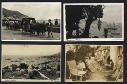 Conjunto 4 Postais MADEIRA Fabricantes Cestos + Funchal+ Carros De Bois + Bananeiras. Set 4 Vtg Photo Postcards PORTUGAL - Madeira