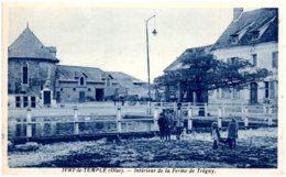 60 IVRY-le-TEMPLE - Intérieur De La Ferme De Trégny - France