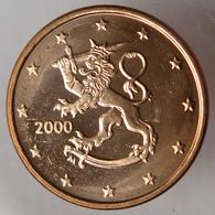 FI00500.1 - FINLANDE - 5 Cents - 2000 - Finlande