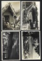 Conjunto 4 Postais Fotograficos Da MADEIRA Bordadeiras Santana + Funchal, Etc. Set 4 Vintage R.photo Postcards PORTUGAL - Madeira