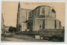 35 CANCALE  L'Eglise Apres Incendie Du 2 Septembre 1906  Parties Manquantes     D01 2020 - Cancale