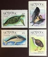 Tonga Niuafo'ou 1984 Wildlife Birds Turtles Whales Bats MNH - Sin Clasificación