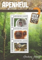 Netherlands - Monkeys In Apenheul, Souvenir Sheet, MINT, 2011 - Affen