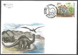 Bosnia And Herzegovina - Dinosaur - Stegosaurus, FDC, 2007 - Vor- U. Frühgeschichte
