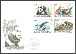 Korea - Animals, FDC, 2010 - Bären