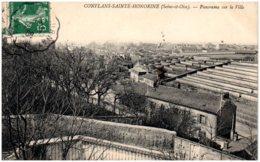 78 CONFLANS-SAINTE-HONORINE - Panorama Sur La Ville - Conflans Saint Honorine