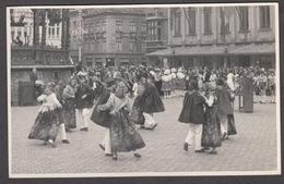 CPA -  Belgique, OSTENDE / OOSTENDE,  Folk Dancing Festival, Carte Photo 1938 - Oostende