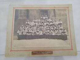 11281  PHOTO TOULOUSE 21 MAI 1909 MAITRISE DE L EGLISE ST ETIENNES  PHOTOGRAPHIE DU DONJON C.LENCOU-BENT RUE LAFAYETTE - Photos